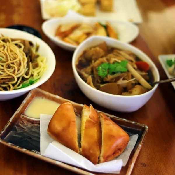 台中市 美食 餐廳 素食 若水茶軒