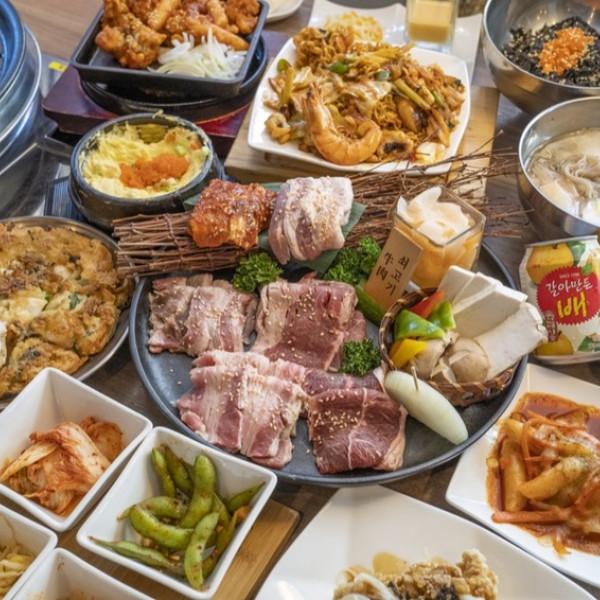 台北市 美食 餐廳 異國料理 小豬樂石韓國火山石烤肉專賣店