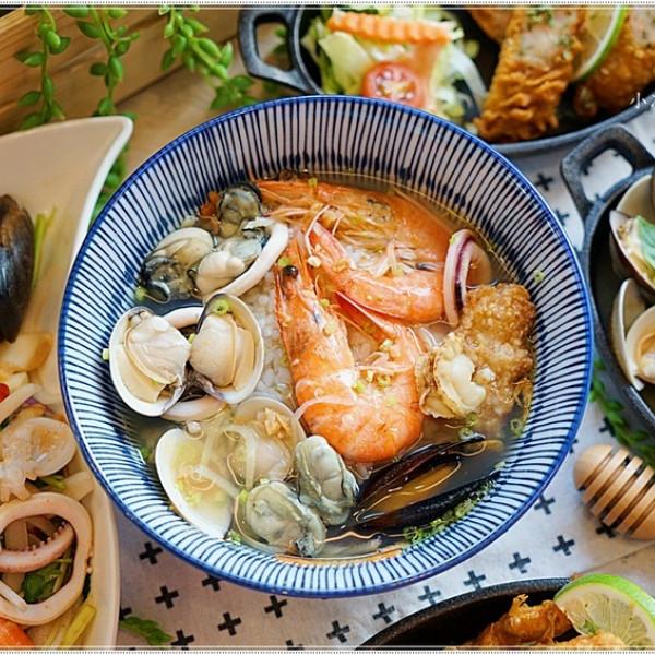 台中市 美食 餐廳 中式料理 小吃 暖心食堂海鮮粥麵