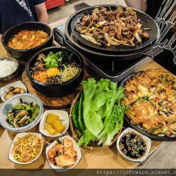 新竹市 美食 餐廳 異國料理 韓式料理 韓味大叔 韓食料理