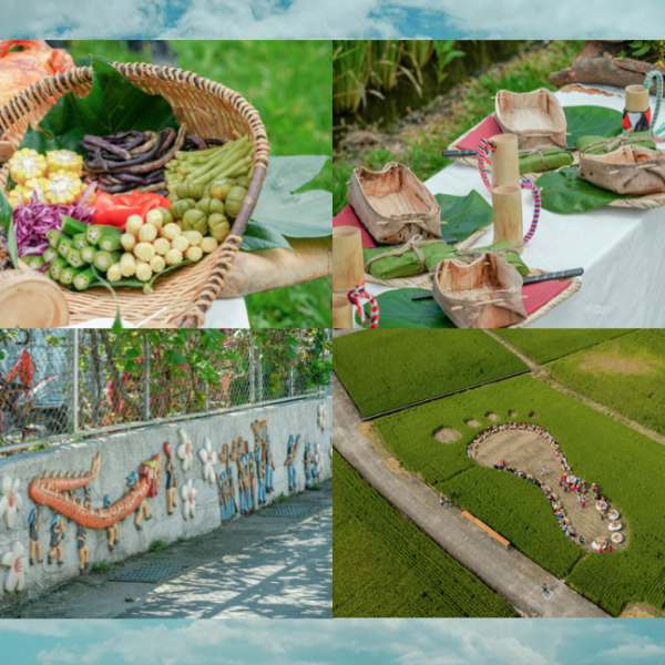 花蓮縣 休閒旅遊 景點 景點其他 縱谷原遊會 稻田腳印餐桌