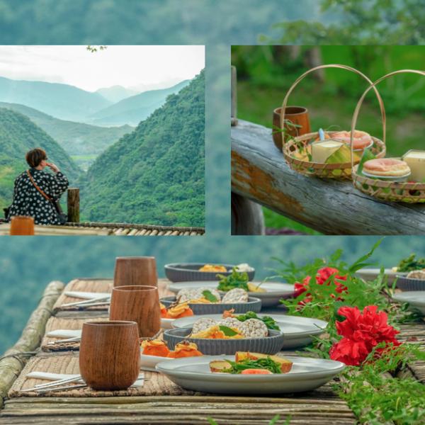 花蓮縣 觀光 觀光景點 縱谷原遊會 哈拉梯田餐桌