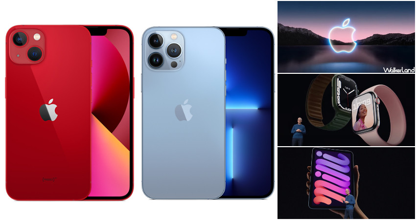 Guofen is about to scream, 1TB capacity is coming!  iPhone 13 and iPhone 13 Pro are on the scene. Specs, price and colors unfold at the same time. Pre-orders will open at 20:00 on September 17 and will be officially announced on September 24.  -WalkerLand Walker Island