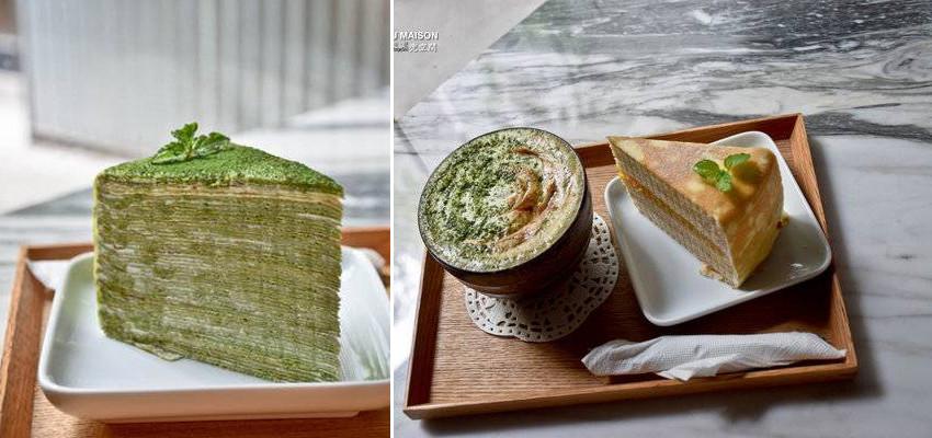 台南 中西區. 超多層的千層蛋糕 / 悠閒的下午茶時間 Dou Maison 兜空間