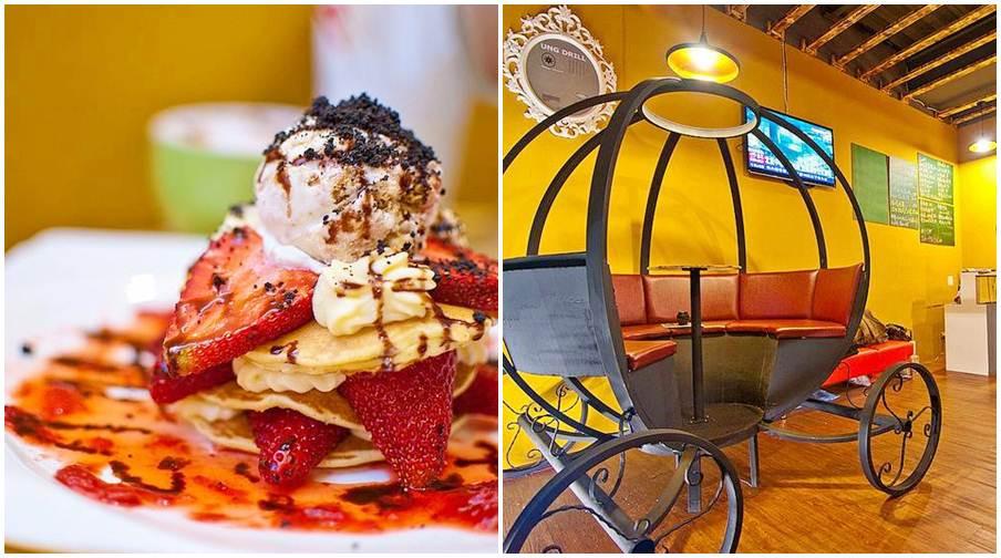 高雄市鼓山區 Cinderella仙杜瑞拉鐵板甜點主題餐廳