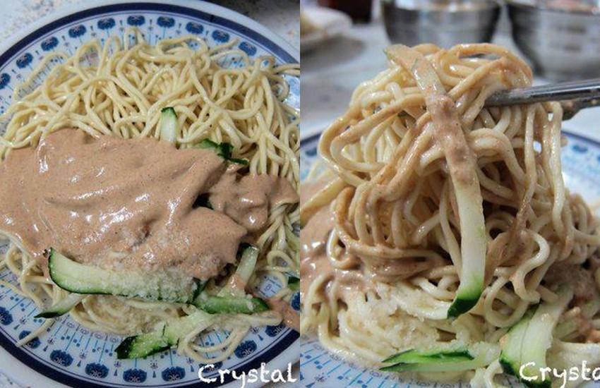 台北市中山區 福德涼麵