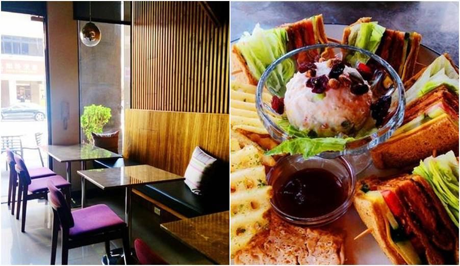 台中市西區 澄石咖啡蔬食廚房