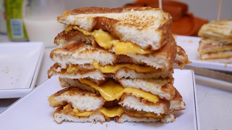 台南市中西區 樂熱煎爆漿乳酪三明治