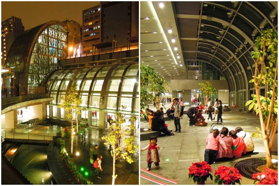 台北市大安區 台北捷運大安森林公園站