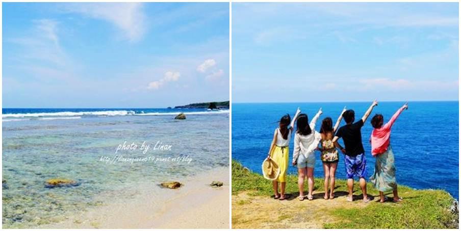 屏東縣琉球鄉 蛤板灣沙灘