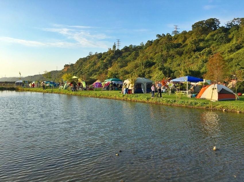 台中市后里區 水映親子露營區