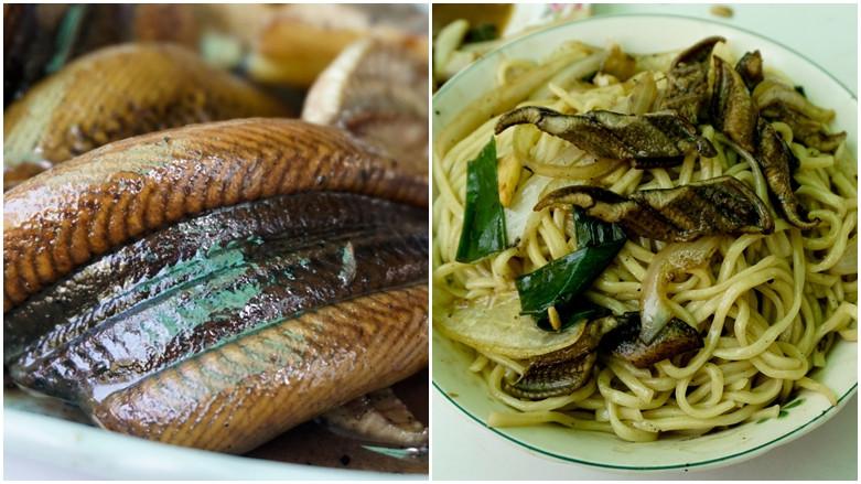 台南市新營區 清香鱔魚麵