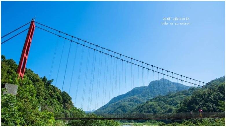 新竹縣尖石鄉 北角吊橋