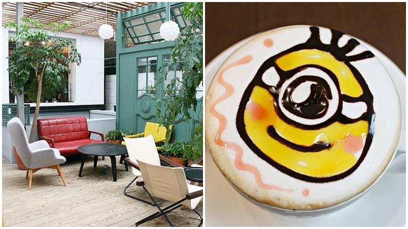 台北市大安區 Longtimeago Café 文創互動咖啡館