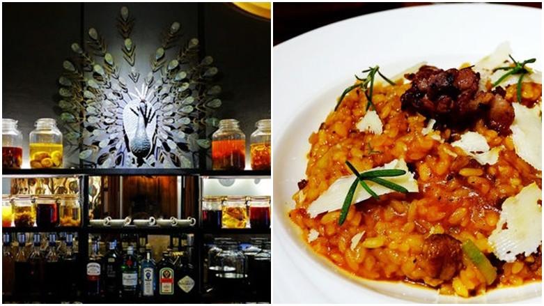 台北市大同區 孔雀Peacock Bistro 歐亞料理餐酒館