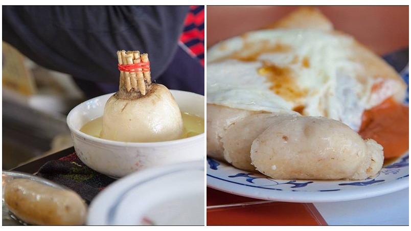 台中市中區 王記菜頭粿糯米腸