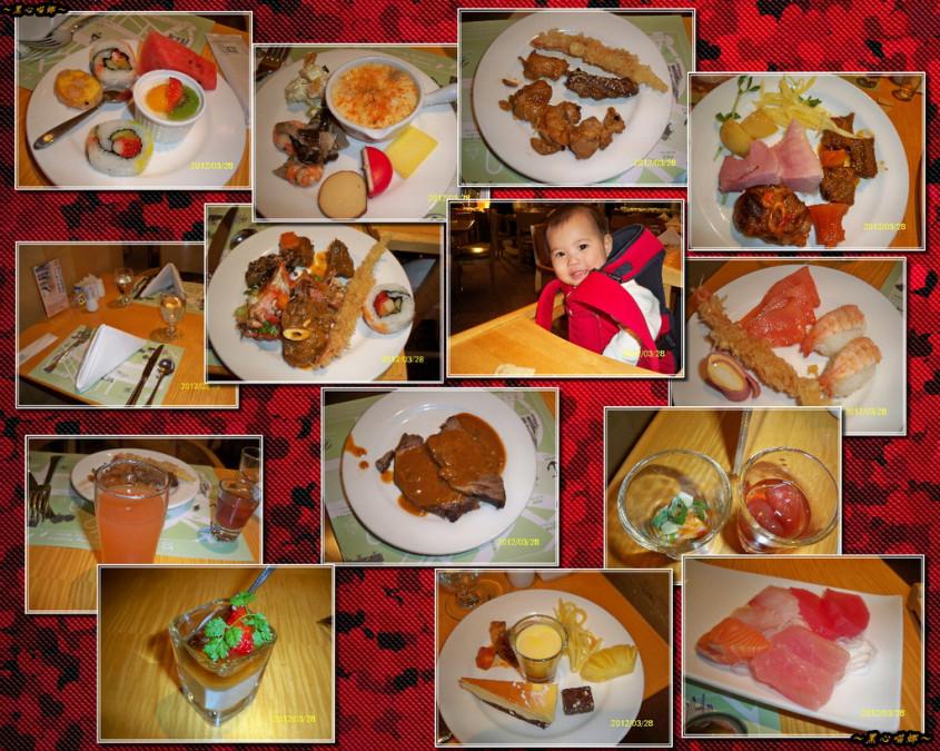 2012.03.28 結婚紀念日- 【高雄】國賓大飯店愛河西餐廳 ...