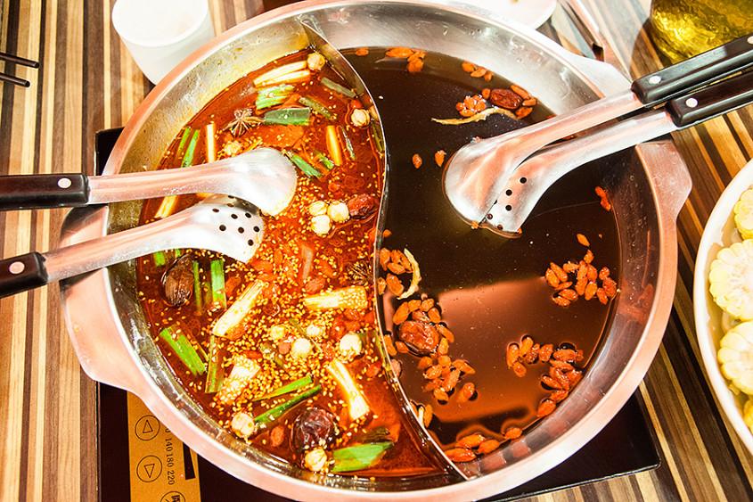 |食|台南中西豪華的麻辣火鍋勾勾鍋鴛鴦火鍋– WalkerLand 窩 ...