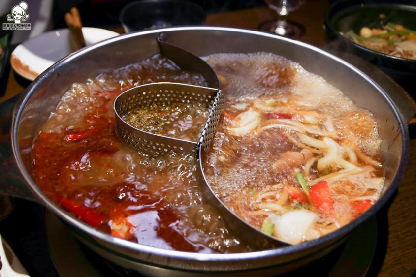 川堂红成都麻辣火锅 x 香浓够味花雕鸡,双锅口味超对味 x 好吃再访!