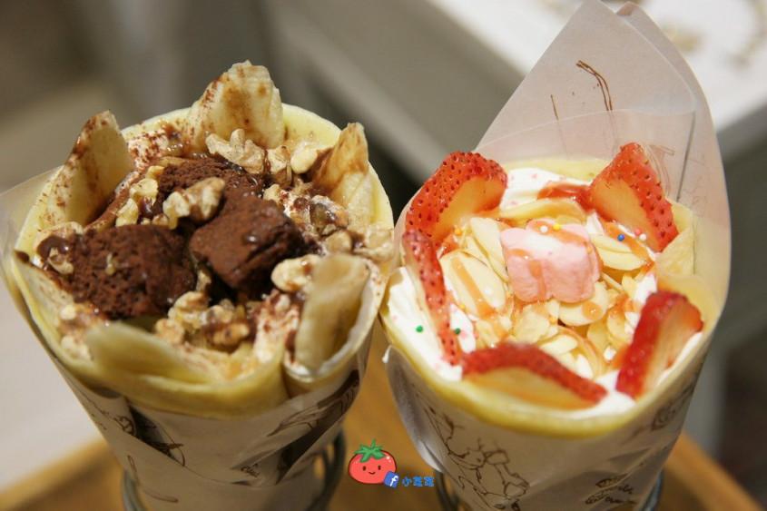 【台北美文】板桥下午茶a美文v美文遇见日式手作可丽饼美食的美食关于图片