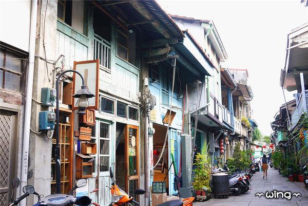 〔台南中西区〕【神农老街】老房子建筑vs文创小店(海安路艺术街附近