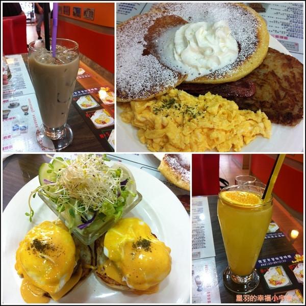 【星羽愛美食-台中】吃不懂的美式早午餐店~3mins。 - 3mins ...