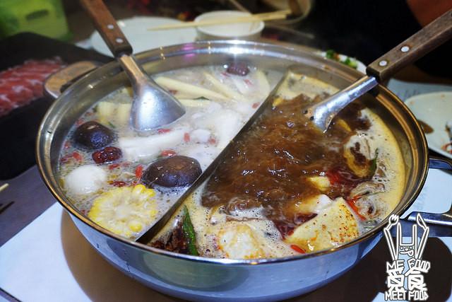 【吃到饱】台北大安 馥临港式火锅(市民店) 独门软嫩花雕鸡 港式云吞