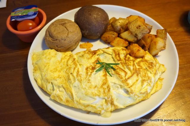 【台中北屯】奧樂美特.Olimato Bistro-超大份量的早午餐,免 ...