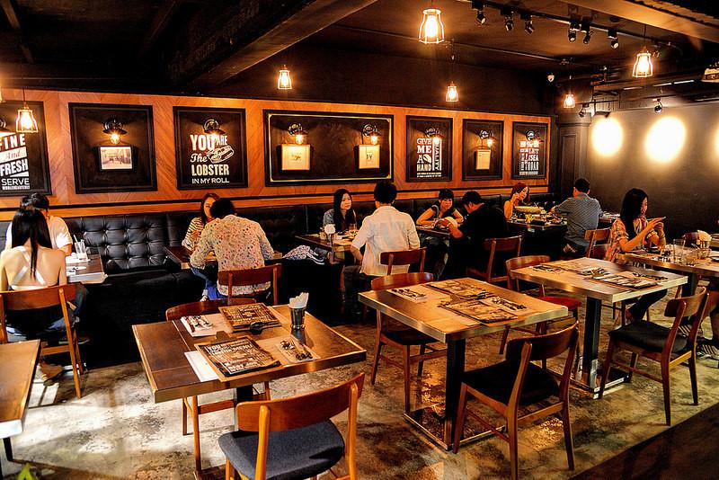 龙虾餐厅the lobster bar-台北东区美式工业风酒吧,颠覆味蕾的奇幻图片
