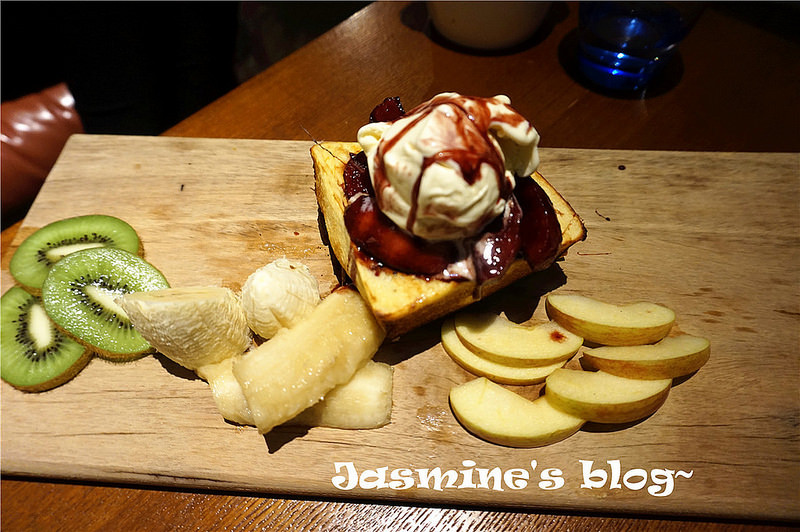 蘋果香草冰淇淋厚片
