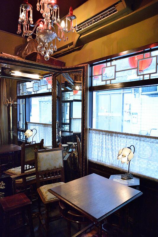 秘氏咖啡 秘密发廊 复古上海风