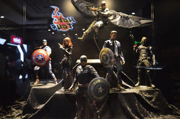 marvel漫威超级英雄特展~~真实感受电影场景.与经典角色近距离接触图片