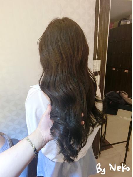 【台北西门染发】魔发首部曲(nico hair) 终结布丁头图片