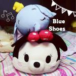 窩客島 藍鞋子