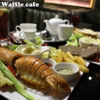 新北市美食 餐廳 異國料理 美式料理 Birkin Waffle cafe 照片