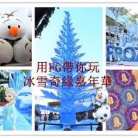 台北市休閒旅遊 景點 展覽館 冰雪奇緣嘉年華 照片