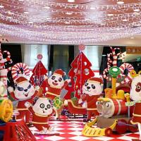 不能放過這一張!京華城「熊貓家族聖誕列車」奇幻登場,再加碼推出星空瀑布燈海,讓你今年聖誕節多個地方打卡。