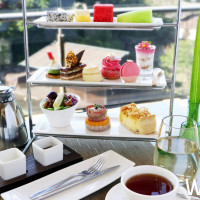 坐擁極致山景超人氣英式下午茶!「北投麗禧」雍翠庭療癒系下午茶,優雅登場。