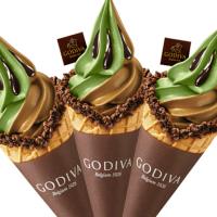 抹茶控尖叫聲不斷!GODIVA「抹茶巧克力霜淇淋」1/19強勢登場,「超濃系抹茶」讓你抹到天邊。