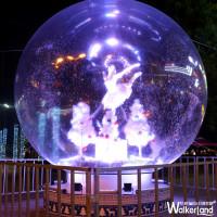 耶誕打卡行程再加一!全台唯一超夢幻5公尺「耶誕水晶球」12/2正式點燈,10大必拍搶先大公開。