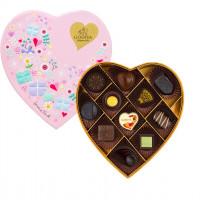 七夕情人節禮物準備了沒?GODIVA「限量心形巧克力禮盒」一起細細品嚐美好滋味吧。