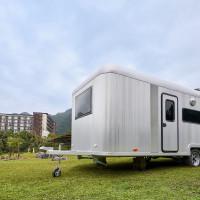 戶外小旅行新選擇!礁溪老爺推出全新「豪華五星露營」住宿活動,一卡皮箱就能體驗露營樂趣。