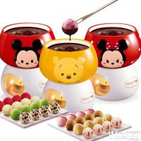 史上最萌巧克力鍋!哈根達斯限量版「迪士尼 Tsum Tsum巧克力鍋」必搶,讓你少女心大噴發。