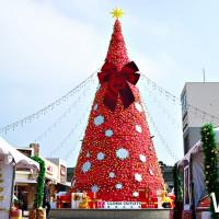 桃園人要失控了!挑戰桃園最大「美式風格聖誕市集」,桃園華泰名品城聖誕村即日起陪你連續狂歡46天。