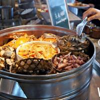就算痛風也要吃到飽!號稱全台最高自助餐廳「50樓Café」推出巨型海鮮蒸籠,挑戰海鮮控的胃容量。