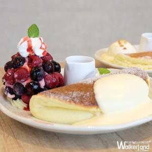 IG網紅「パンケーキ 屋莎鬆餅屋」正式搶攻京站商圈!超浮誇起司瀑布和牛堡、超療癒鬆餅,一次讓你拍個夠。